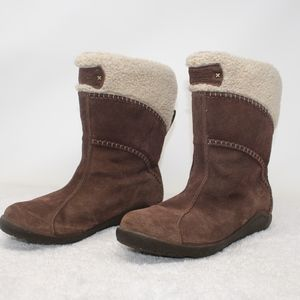 Timberland Fleece Shearling Lined Boot Size 7.5